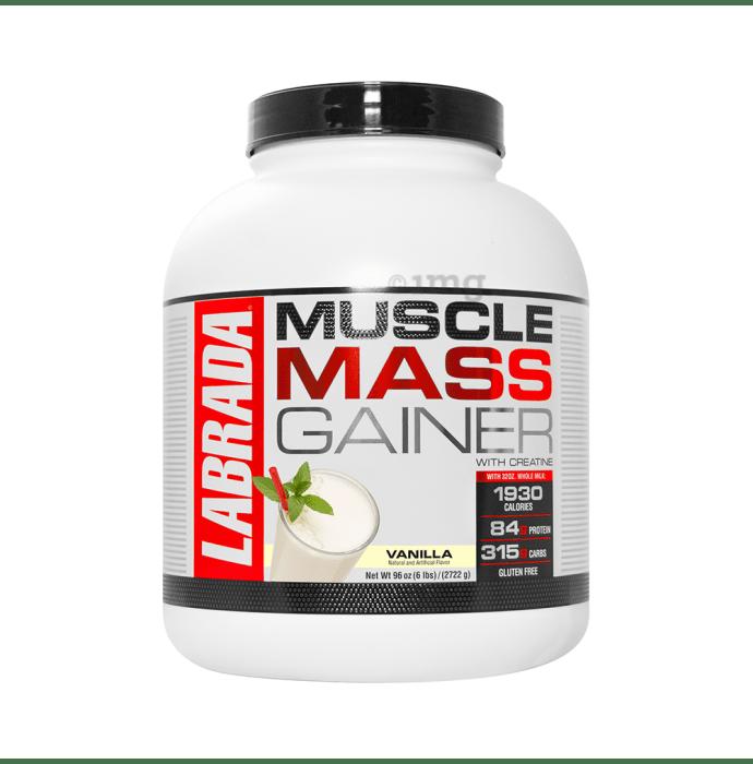 Labrada Nutrition Muscle Mass Gainer Vanilla