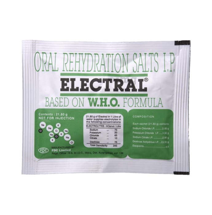 Electral Powder: Buy sachet of 21.8 gm Powder at best price in India | 1mg