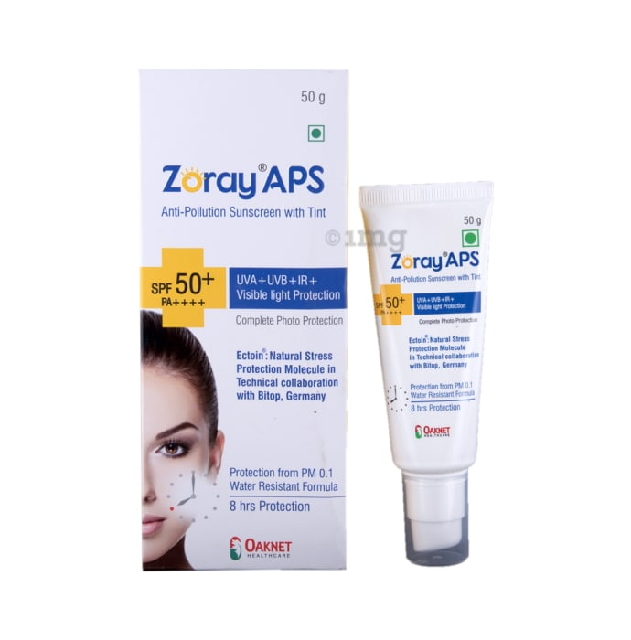 Zoray APS SPF 50+ Sunscreen Gel