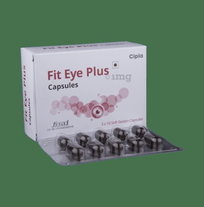 Fit Eye Plus Soft Gelatin Capsule