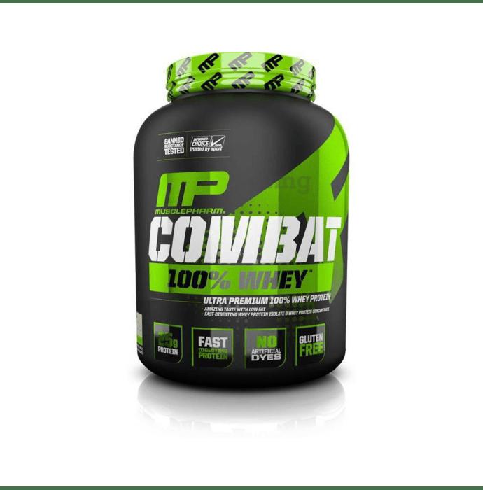 Muscle Pharm Combat 100% Whey Protein Powder Mocha Cappuccino