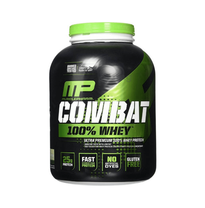 Muscle Pharm Combat 100% Whey Protein Powder Cookies & Cream