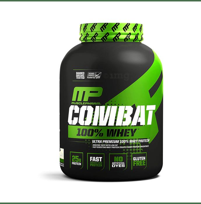 Muscle Pharm Combat 100% Whey Protein Powder Vanilla