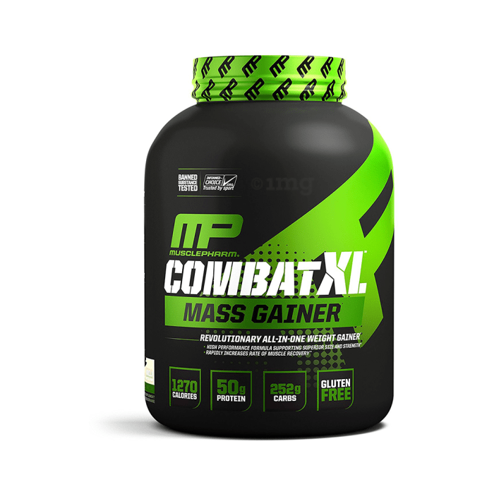 Muscle Pharm Combat XL Mass Gainer Vanilla