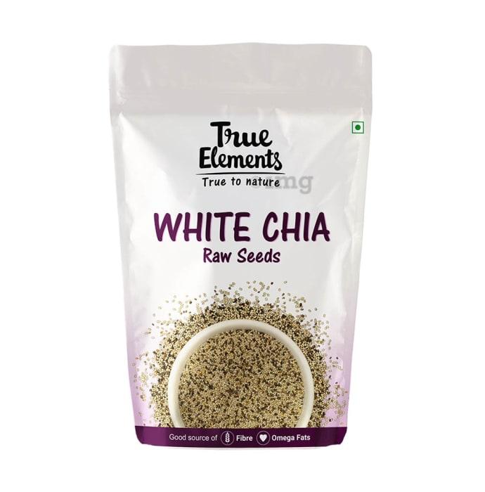 True Elements White Chia Raw Seeds