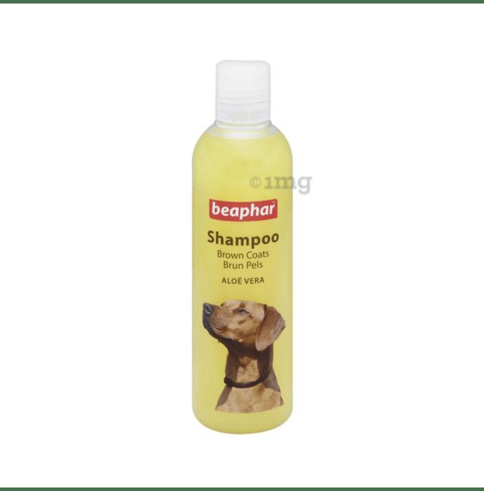 Beaphar Aloe Vera Dog Shampoo for Brown Coats