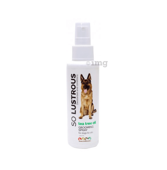 Tea Tree Oil So Lustrous Grooming Spray For Dogs & Cats