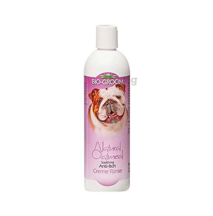 Bio-Groom Natural Oatmeal Soothing Anti-Itch Creme Rinse Conditioner (For Pets)