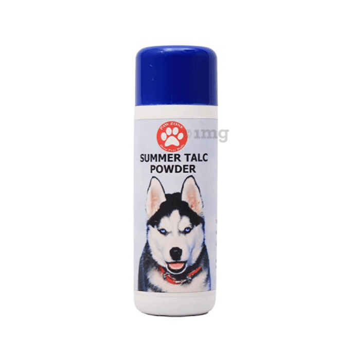 Pawzone Summer Talc Powder (For Pets)