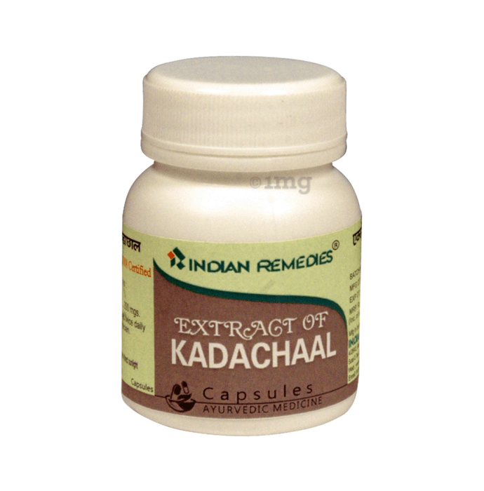 Indian Remedies Extract of Kadachaal Capsule