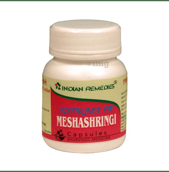 Indian Remedies Extract of Meshashringi Capsule