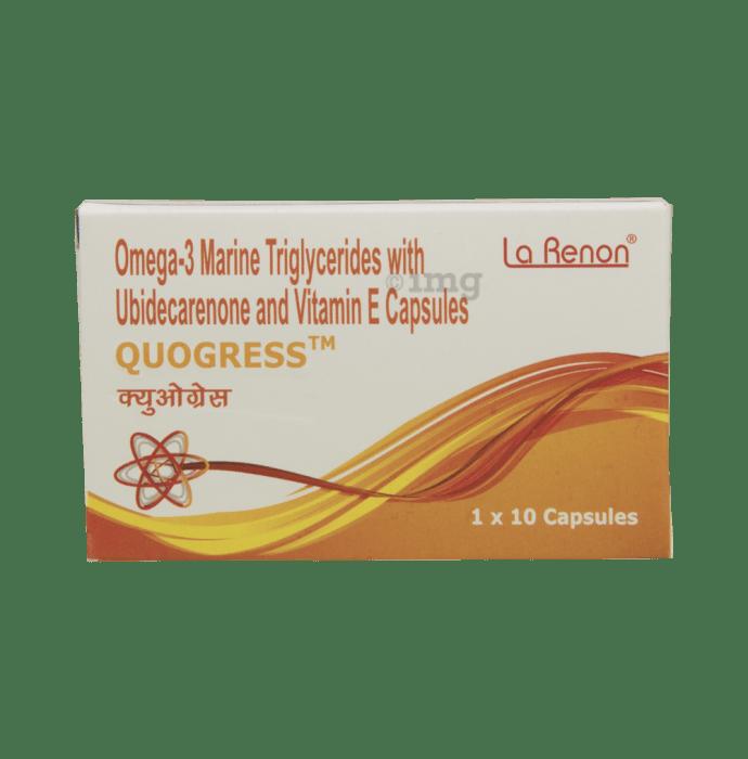 Quogress Soft Gelatin Capsule