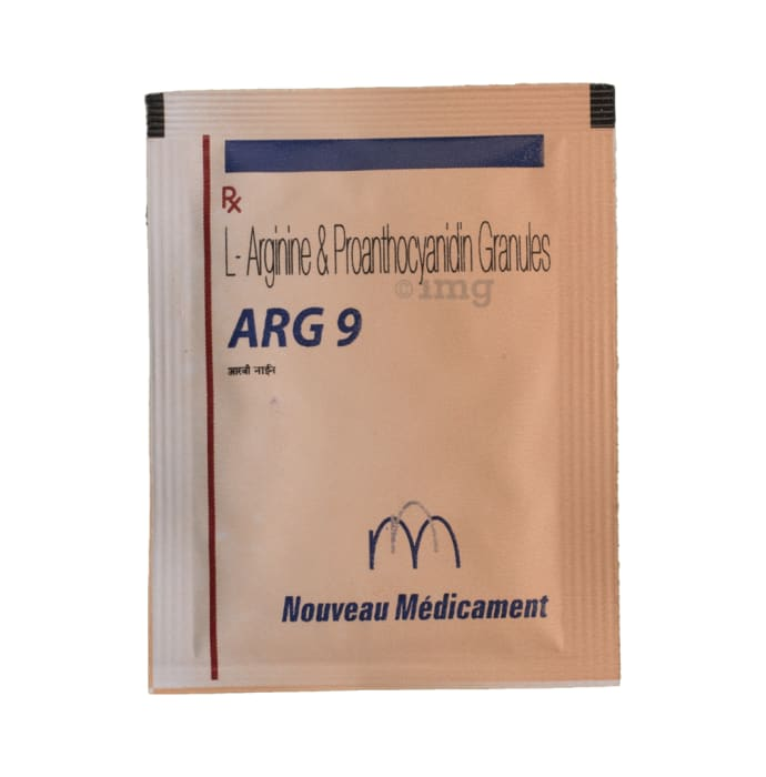 Arg 9 Granules Buy Packet Of 5 Gm Granules At Best Price In India