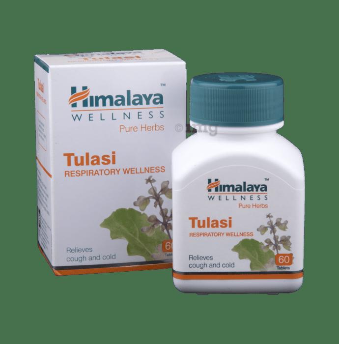 Himalaya Wellness Pure Herbs Tulasi Respiratory Wellness Tablet