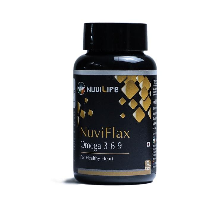 Nuvilife Nuviflax Omega 3 6 9 500mg Capsule