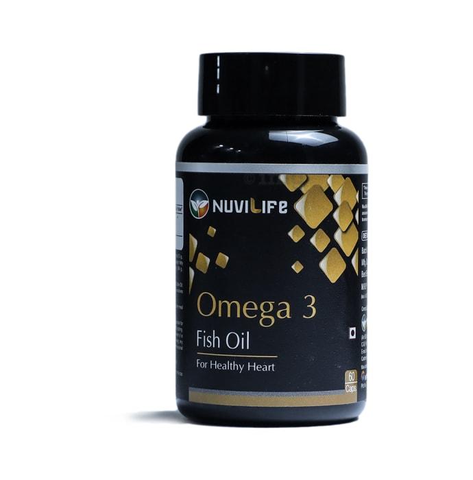 Nuvilife Omega 3 Fish Oil 550mg Capsule