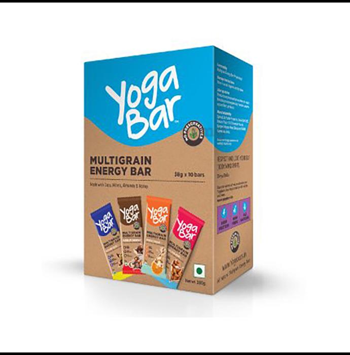 Yoga Bar Multigrain Energy Bar (38gm Each) Variety