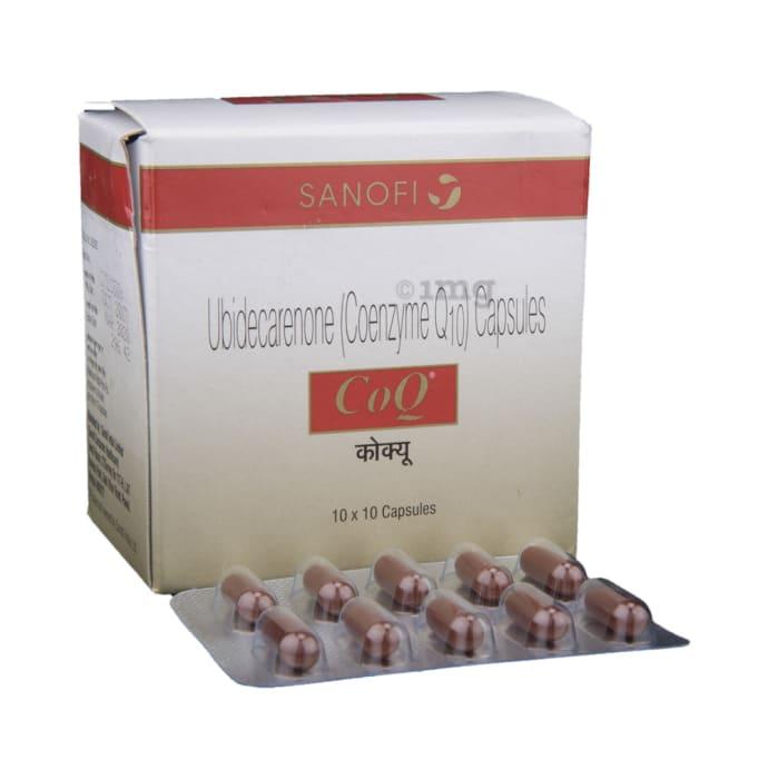 CoQ 30mg Health Supplement Capsule