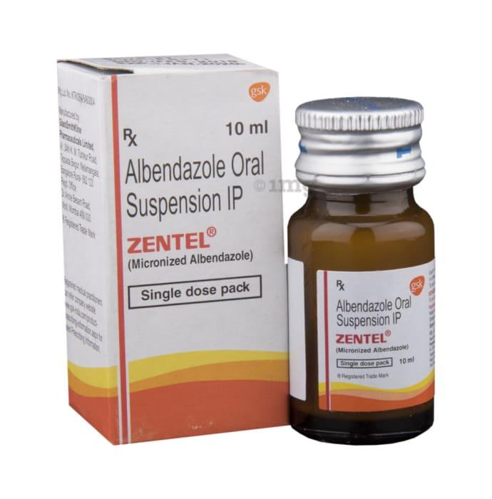 Zentel toxocara kezelés