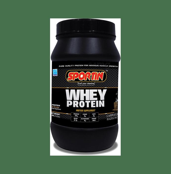 Sportin Whey Protein Powder Cappuccino Hazelnut
