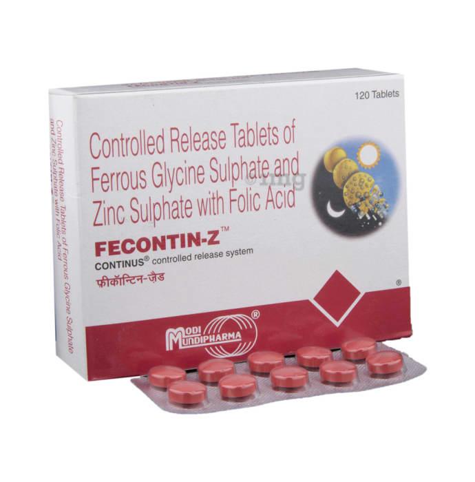 Fecontin-Z Tablet CR
