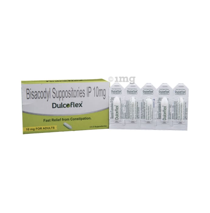 Dulcoflex 10mg Suppository for Adult