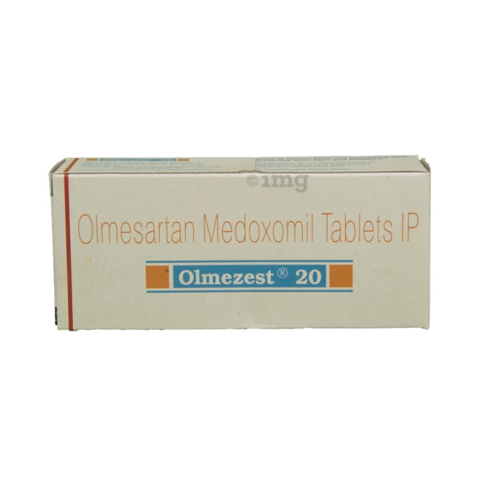 Olmezest h 20 mg or 12.5 mg ranitidine