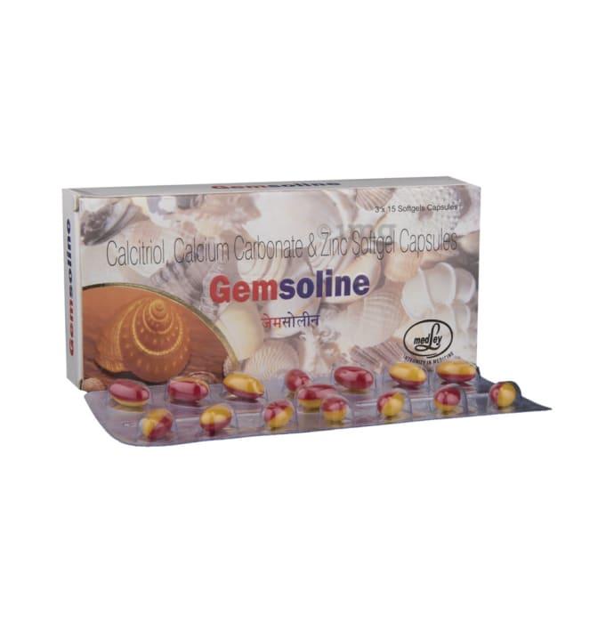 Gemsoline Soft Gelatin Capsule