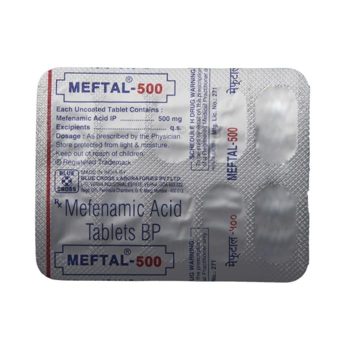 Meftal xl side effects
