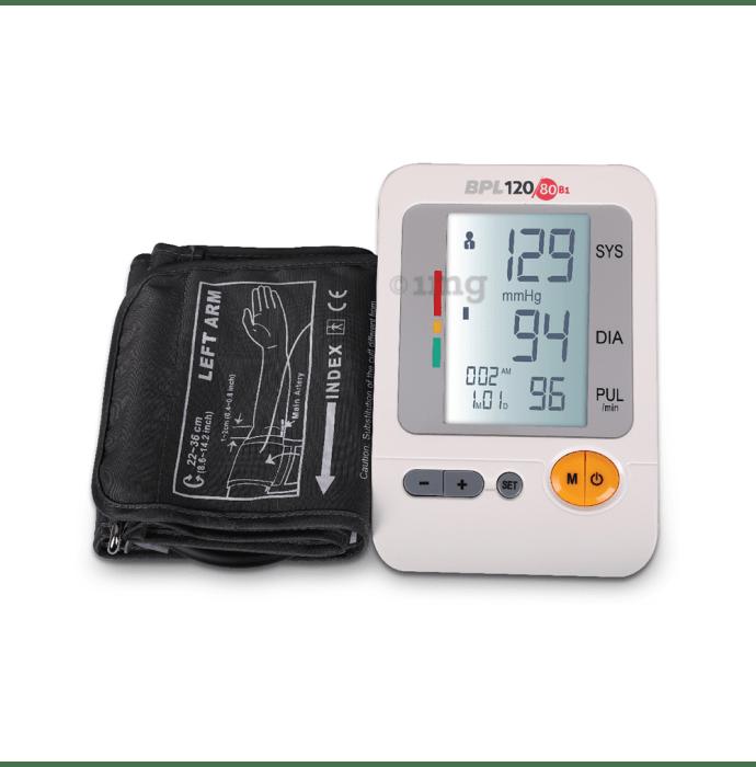 BPL B1 120/80 Blood Pressure Monitor