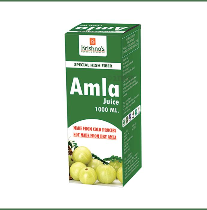 Krishna's Premium Amla High Fibre Juice
