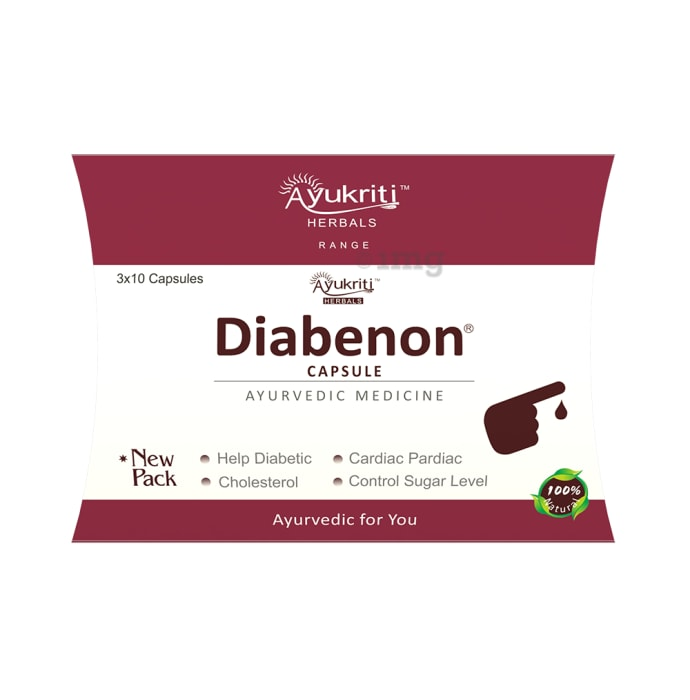 Ayukriti Herbals Diabenon Capsule