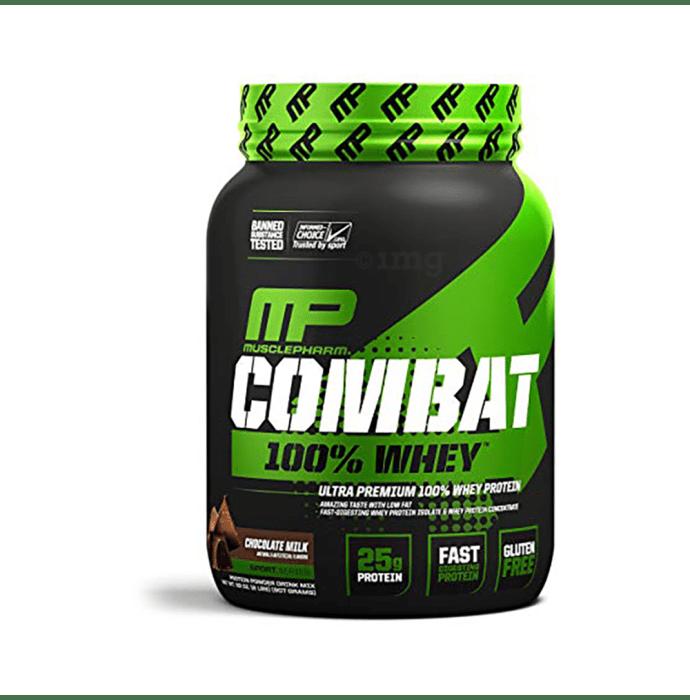 Muscle Pharm Combat 100% Whey Protein Powder Chocolate Milk