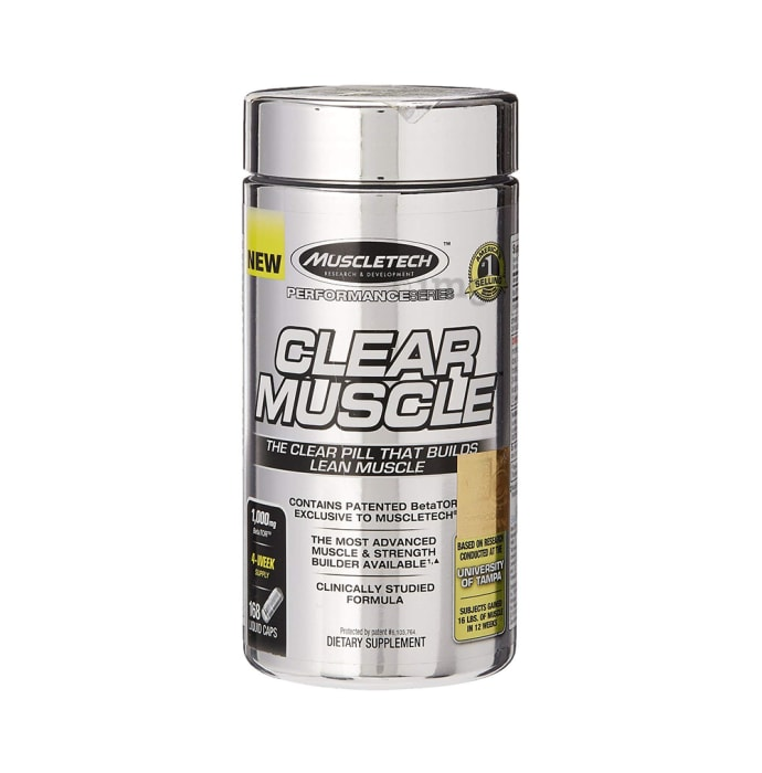 Muscletech Performance Series Clear Muscle Powder