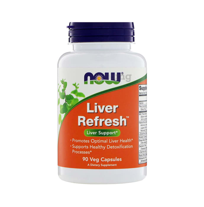 NOW Foods Liver Refresh Veg Capsule