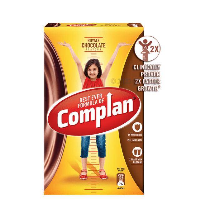 Complan Growth Mix Refill Royale Chocolate