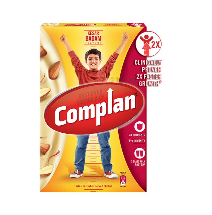 Complan Growth Mix Refill Kesar Badam