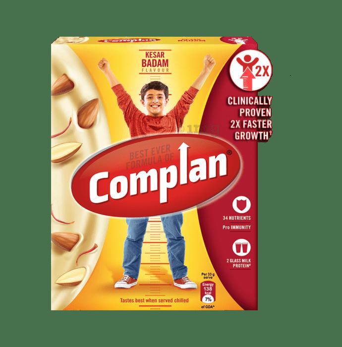 Complan Growth Mix Refill Kesar Badam