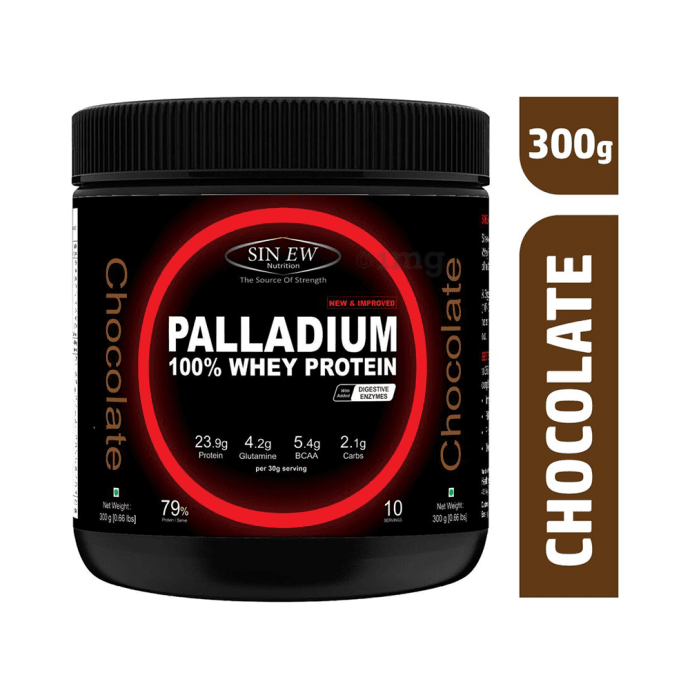 Sinew Nutrition Palladium 100% Whey Protein with Digestive Enzymes Chocolate