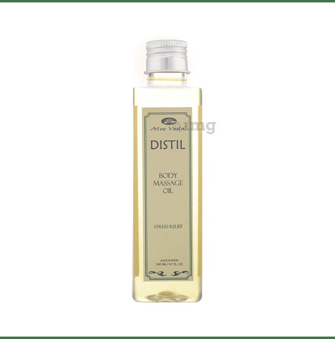 Aloe Veda Distil Body Massage Oil Stress Relief