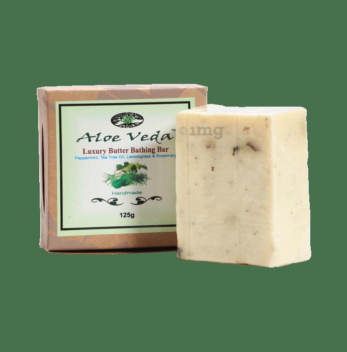 Aloe Veda Luxury Butter Bar Peppermint Tea tree Oil Lemongrass and Rosemary