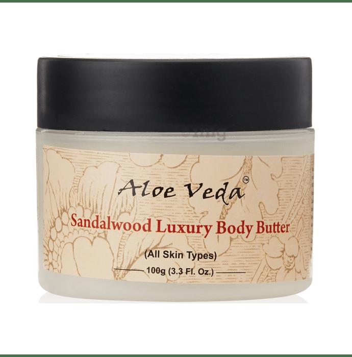 Aloe Veda Luxury Body Butter Sandalwood