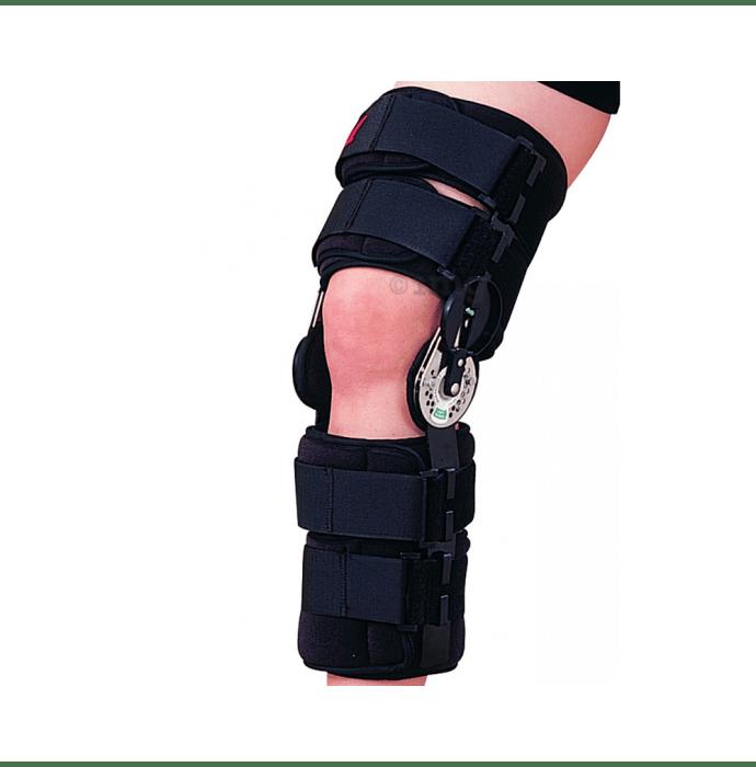 Health Point OH-702 Adj. Hinge Knee Splint Free Size 42 cm