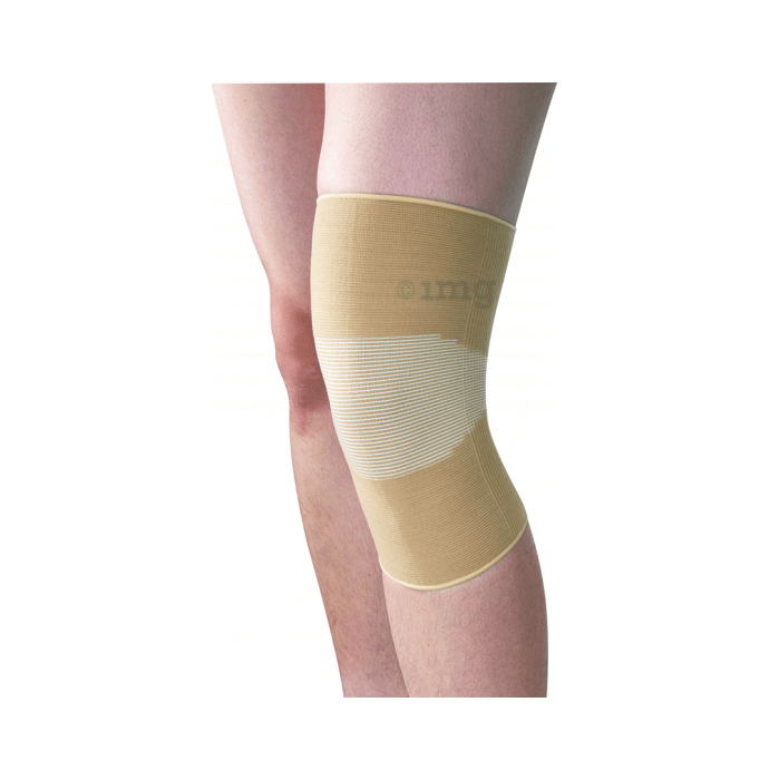Health Point ES-762 Elastic Knee Support with Silicon Anti Slip XXL