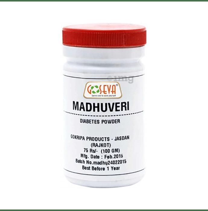 Goseva Madhuveri Diabetes Churna