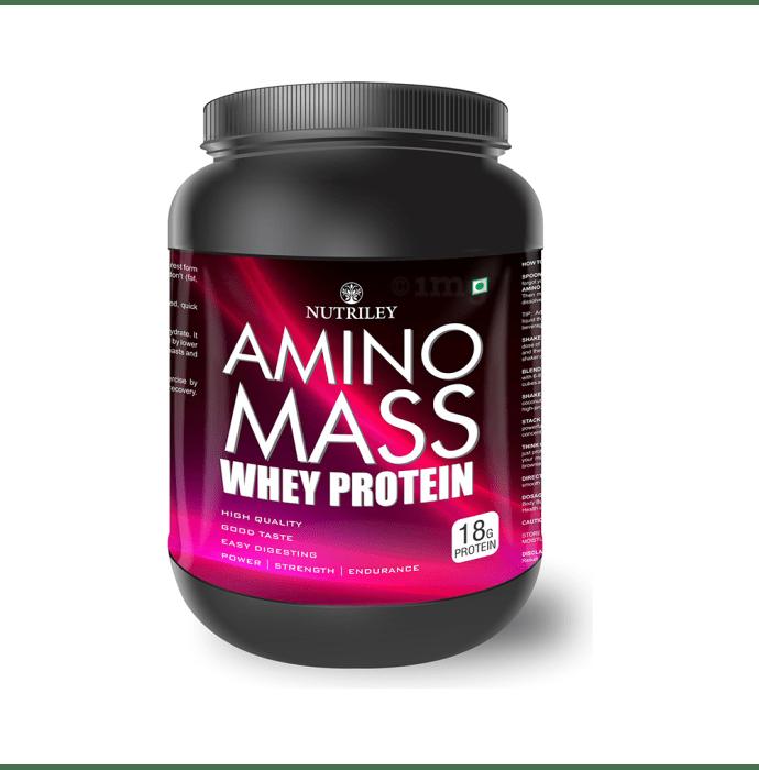 Nutriley Amino Mass Whey Protein Strawberry
