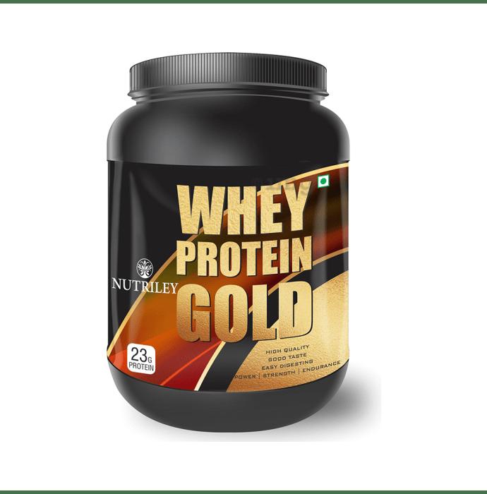 Nutriley Whey Protein Gold Powder Kesar Pista Badam