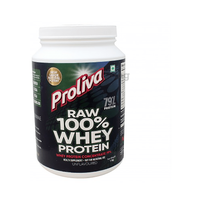 Nutrisattva Raw Whey Protein Powder Unflavoured
