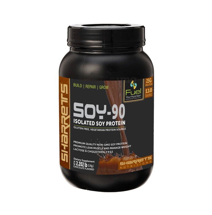 Sharrets Isolated Soy Protein 90% Powder Chocolate