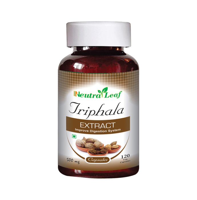 Neutra Leaf Triphala Extract 500mg Capsule